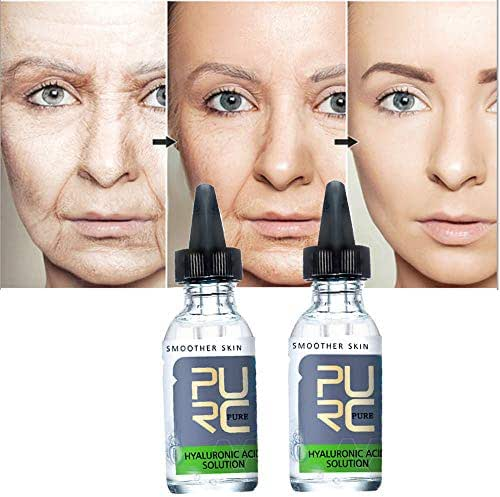 Face Lift Vitamin Serum Hyaluronic Liquid Moisturizing Anti WrinkleLasting Moist smooth skin Repair Liquid Water Skin Care Moisturizing Brighten Skin Shrink Pores deep Firming