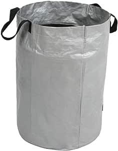 M-Y-L Heavy Duty jardín Bolsa de residuos Durable a Prueba de Agua Reutilizable Yarda del jardín de Compost Bolsa Ambiental PE Planter Bolsas: Amazon.es: Hogar