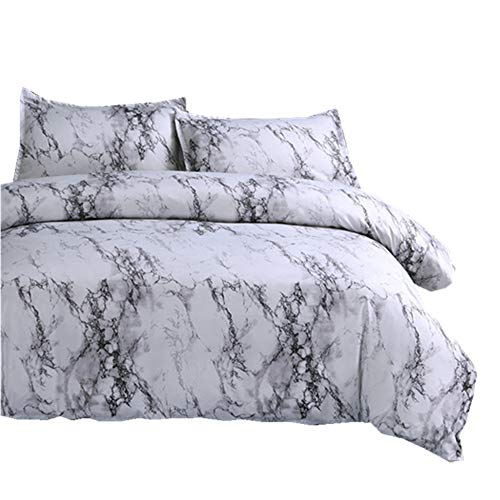 NTBED Marble Duvet Cover Sets Full Modern