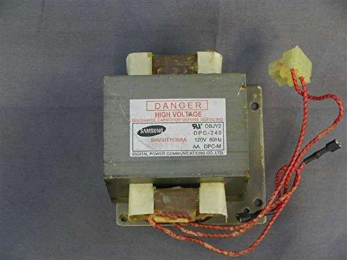 - Recertified Samsung SHV-UT1136AA Microwave High Voltage Transformer DPC-240 OBJY2 120V 60Hz
