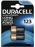 2 x Batterie Duracell Ultra photo 123 3 V Lithium – dl123 Pile pour – el123 a – CR123 A – CR17345