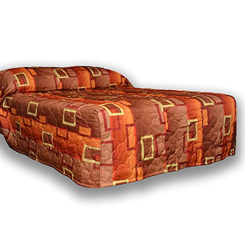 Everest Supply Quilted Bedspread Designed for Hotel/Motel-Resort-Air B&B & Home Over Sized 21