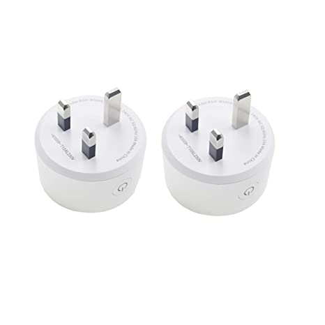 Ancoree actualizado WLAN Smart Plug Enchufe inteligente funciona con Amazon Alexa y Google Home EU enchufe