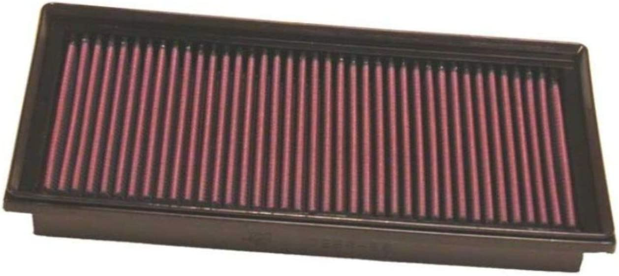 service KN Engine Air Deluxe Filter: High Performance Premium Washable Repl