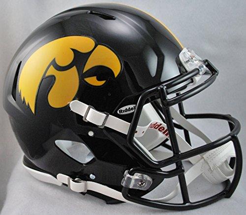 NCAA Riddell Iowa Hawkeyes Revolution Speed Full-Size Authentic Football Helmet