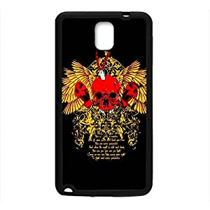 Gold Skull Custom Protective Hard Phone Cae For Samsung Galaxy Note3