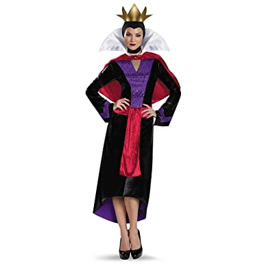 Disguise Womenu0027s Evil Queen Deluxe Adult Costume Multi Small  sc 1 st  Amazon.com & Amazon.com: Disguise Womenu0027s Evil Queen Deluxe Adult Costume: Clothing