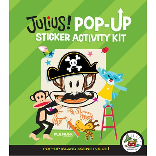 Paul Frank Stickers - Paul Frank Pop Up Sticker Kit