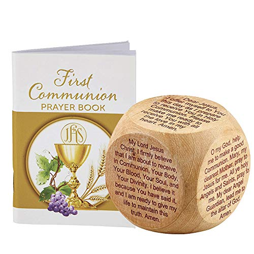 Elysian Gift Shop First Communion Educational Wood 1.75