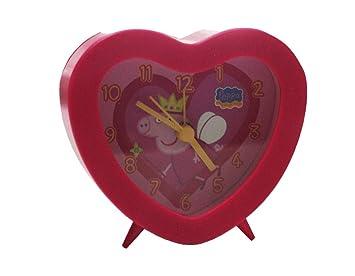 Reloj despertador peppa pig colores surtidos: Amazon.es: Juguetes y juegos
