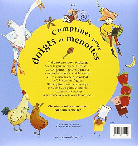 Comptines Pour Doigts Et Menottes (French Edition)