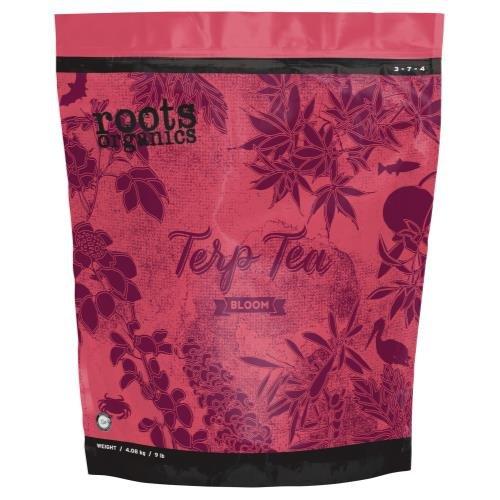 Roots Organics Terp Tea Bloom 3-7 - 4 Roots Organics Terp Tea Bloom 9 lb (3/Cs)