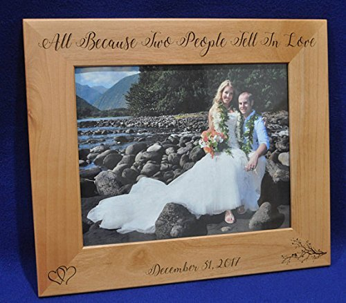 wedding gifts for bride and groom wedding gift engraved picture frame custom wedding