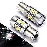 03 mitsubishi galant parts - 1156/1141 LED Bulbs Backup Lights, Reverse Lights SEALIGHT Xenon White (Pack of 2)