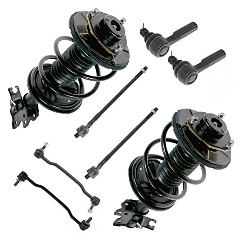 Tie Rod Sway Bar Strut w/ Coil Spring Assembly Set of 6 for 02-06 Nissan Altima (Set Tie Strut Bar)