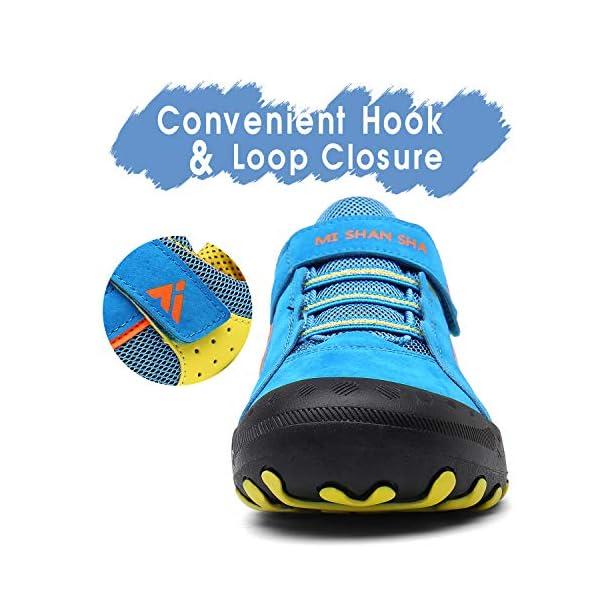 Mishasha Baskets Fille Garçon Respirant Enfant Décontractées Chaussures de Sport Ultra-légères Mixte Low Top Sneakers