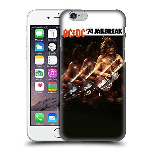 Officiel AC/DC ACDC Évasion De Prison Couverture D'album Étui Coque D'Arrière Rigide Pour Apple iPhone 6 / 6s
