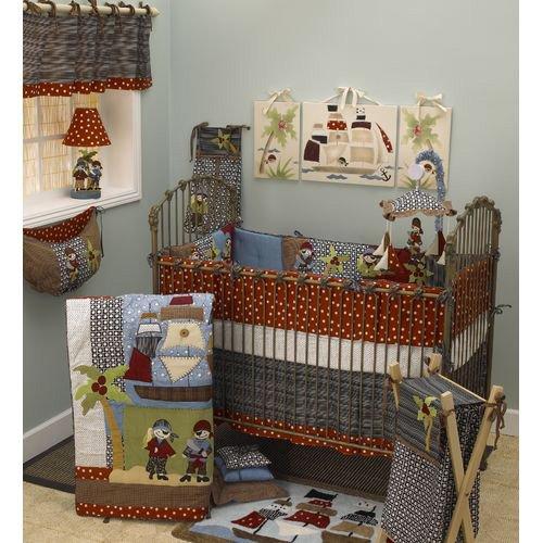 Pirates Cove 9 Piece Crib Bedding Set