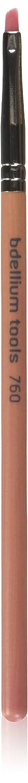Bdellium Tools Professional Makeup Brush Pink Bambu Series Liner Brow 760, 1 Count BD-PBAMBU-760