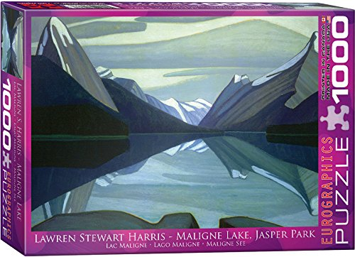 EuroGraphics Maligne Lake, Jasper Car park by Lawren Harris 1000 Piece Puzzle