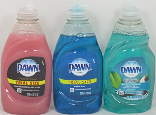 Dawn Ultra Pomegranate Splash, Original, New Zealand Springs Dishwashing Liquid ( 8 Fl. Oz)