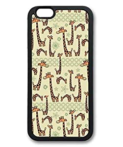 MMZ DIY PHONE CASEiphone 5c Case, iCustomonline Giraffe Back Case Cover for iphone 5c
