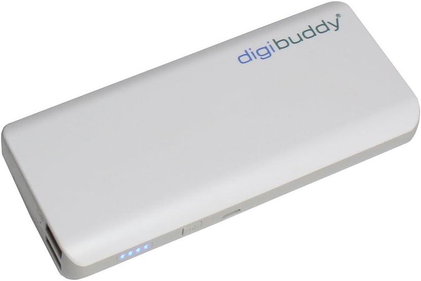Powerbank, batería Adicional Externa, 11000mAh para BQ Aquaris X2;ptimamente Durante el Viaje, Dos Dispositivos Cobran al Mismo Tiempo,, Duradero