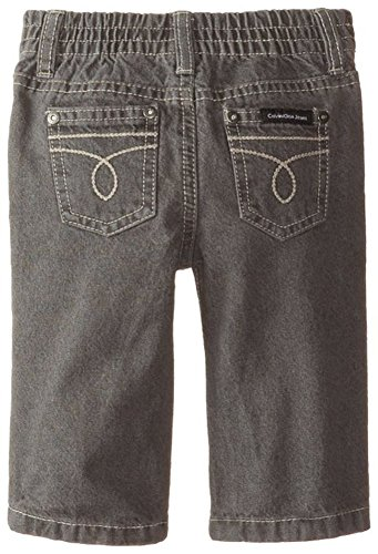 Calvin Klein Baby Boys' Zip Front Jacket with Jeans, Blue, 24 Months