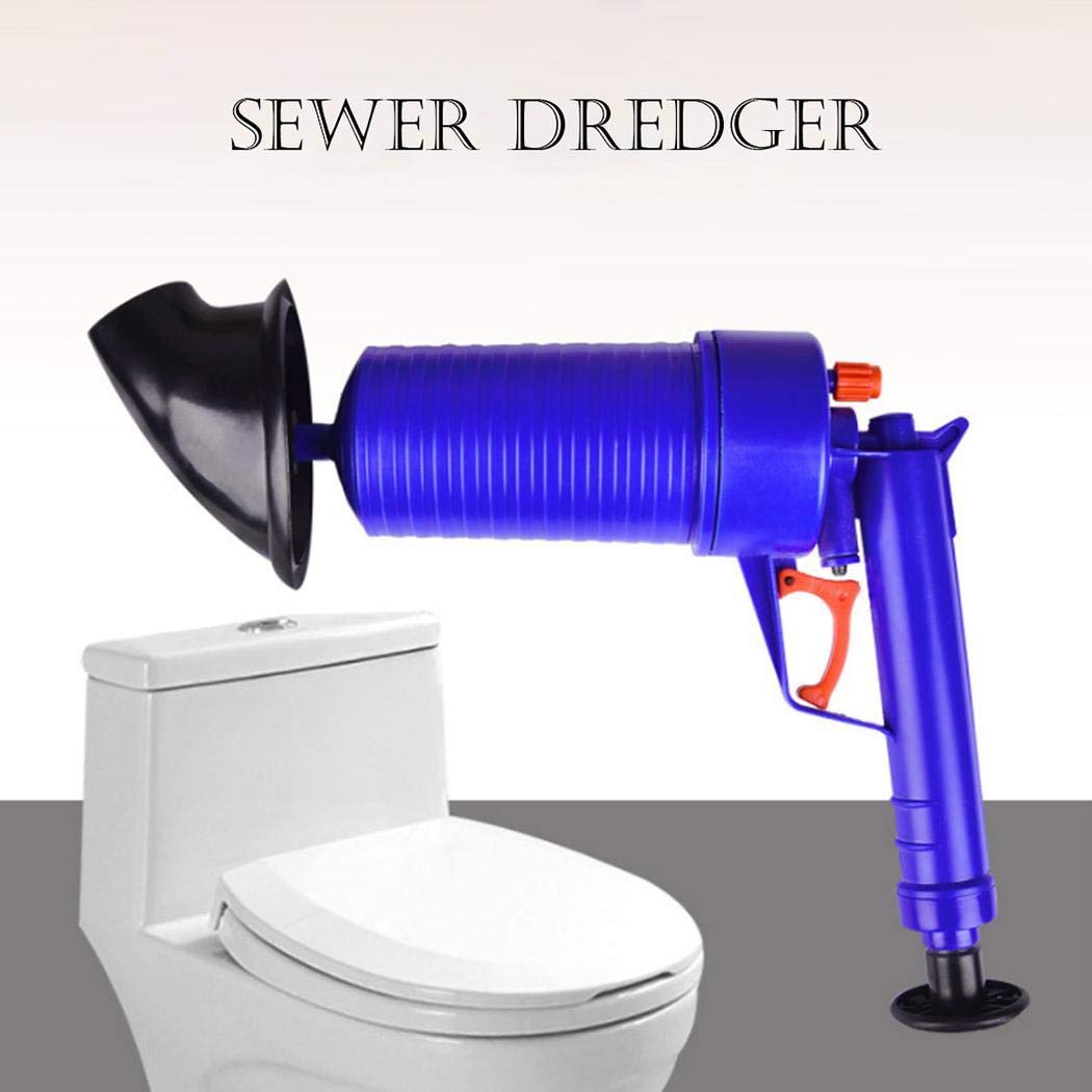 Rampmu Household Sewer Dredge Home Sewer Toilet Flushing Sewer Pipes for Kitchen Toilet WC Accessories