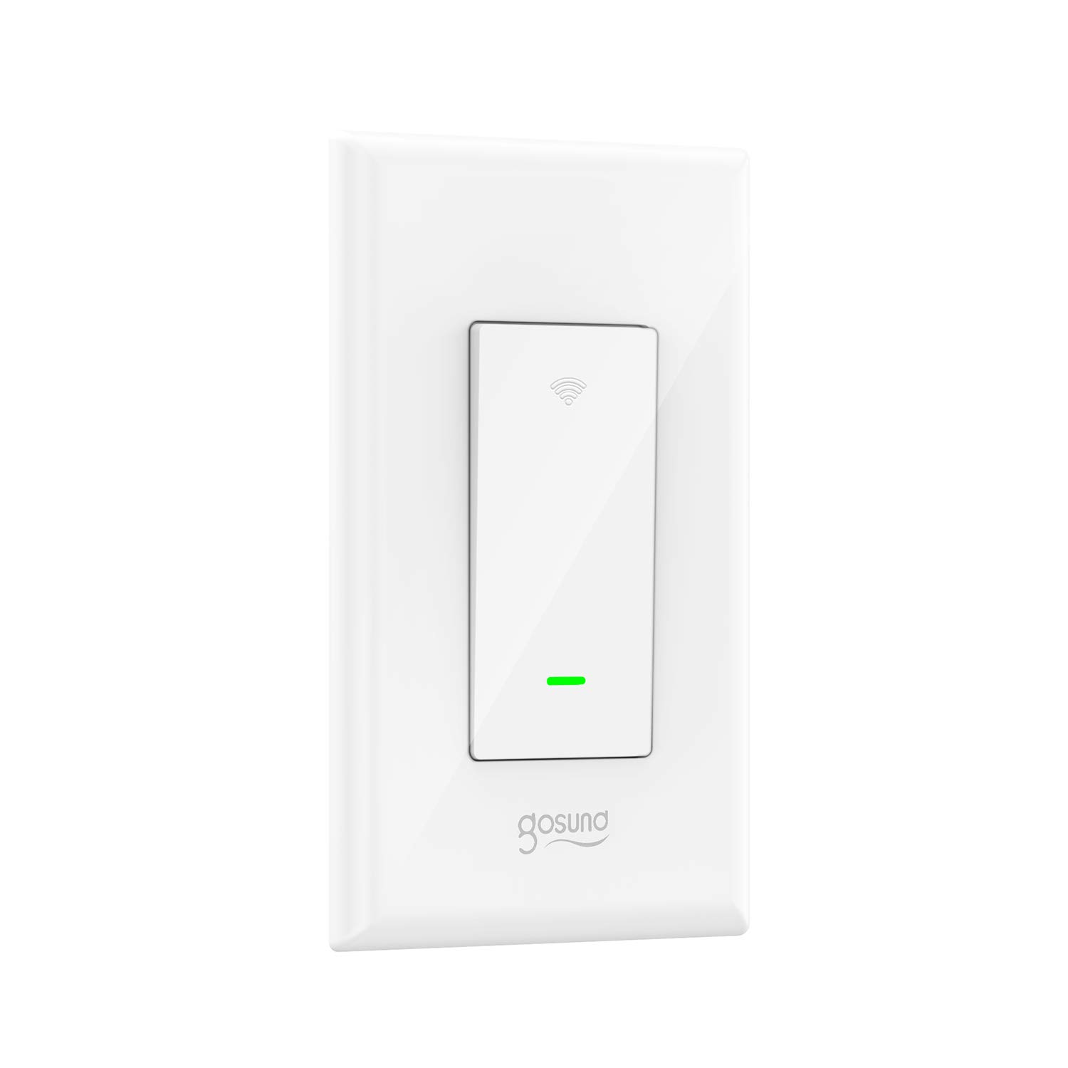 Smart Light Switch Gosund 15a Wifi With Remote Besides 3 Way Wiring Diagram Together Control And Timer Works Alexa Google Home Ifttt No Hub Required