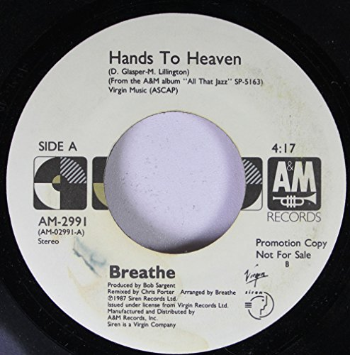 BREATHE Hands Heaven 45rpm record product image
