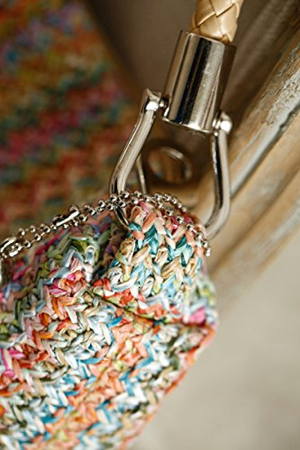 Flada, Borsa a mano donna multicolore Multicolour medium