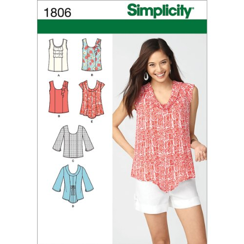 Simplicity Pattern Misses Pullover 16 18 20 22 24 product image