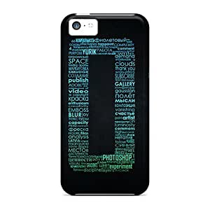 Case Cover Protector For Iphone 5c 2011 Typo Case