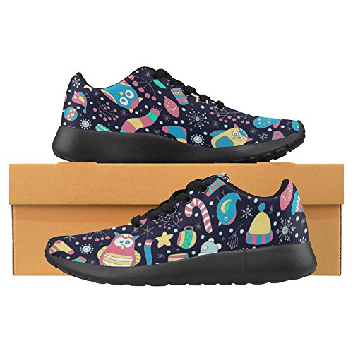 InterestPrint Womens Jogging Running Sneaker Lightweight Go Easy Walking Casual Comfort Sports Running Shoes Multi 30 Z9OBsNK
