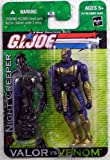 G.I. Joe Valor vs. Venom Night Creeper 3 3/4 Inch Action Figure