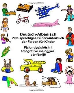 Das Große Bildwörterbuch Deutsch Albanisch Mit