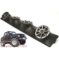 Suzuki Samurai Kicker KS525 5.25 Inch Sound Bar Speakers System Black Finish