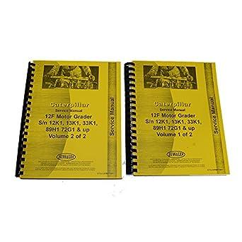 amazon com for caterpillar 14e motor grader service manual new rh amazon com Cat 140 Motor Grader Ford Motor Grader