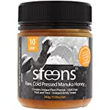Steens Manuka Honey UMF 10 (MGO 263) 12 Ounce jar | Pure Raw Unpasteurized Honey From New Zealand NZ | Contains Natural Healing Properties for Sore Throats & Immunity | Traceability Code on Each Label