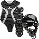 All-Star Sports Youth League Protective Catchers Set for Youth Ages 7-9, Black