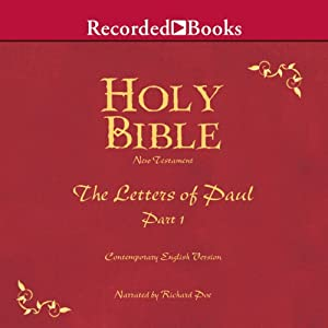 Holy Bible: Letters of Paul - Part 1, Volume 27 Audiobook