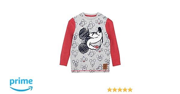 151e9ce5a973 Amazon.com  Disney Boys  Mickey Mouse Long Sleeved Top  Clothing