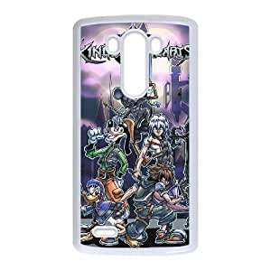 Kingdom Hearts LG G3 Cell Phone Case White DIY Gift xxy002_0333956