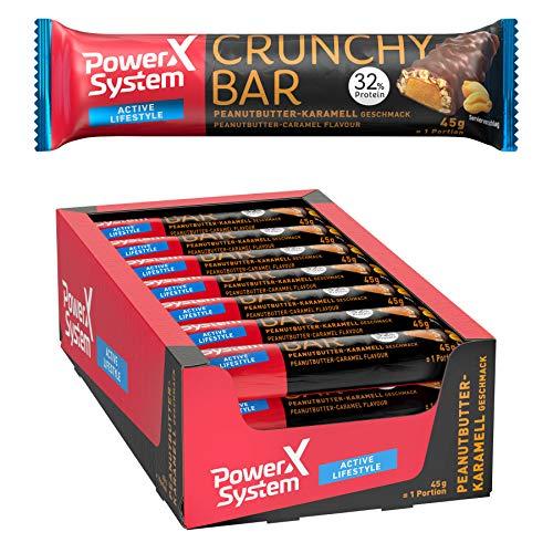 Power System Crunchy Bar – proteïne reep 18 x 45 g (paasboter)