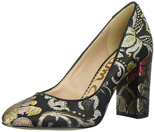 Stillson Pump, Black/Multi Venezia Metallic Jacquard, 9 Medium US (Metallic Jacquard)
