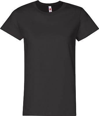 e0774c926b Hanes Women s Relaxed Fit Jersey ComfortSoft Crewneck T-Shirt ...