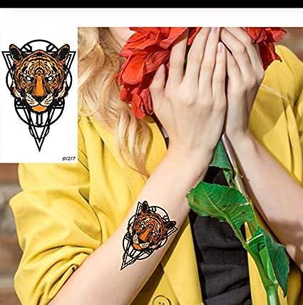 LFVGUIOP Tigre Fresco diseño de Animales Totem Impermeable Falso ...