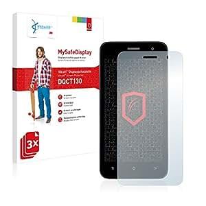 3x Vikuiti MySafeDisplay Protector de Pantalla DQCT130 de 3M para Phicomm Energy M E550