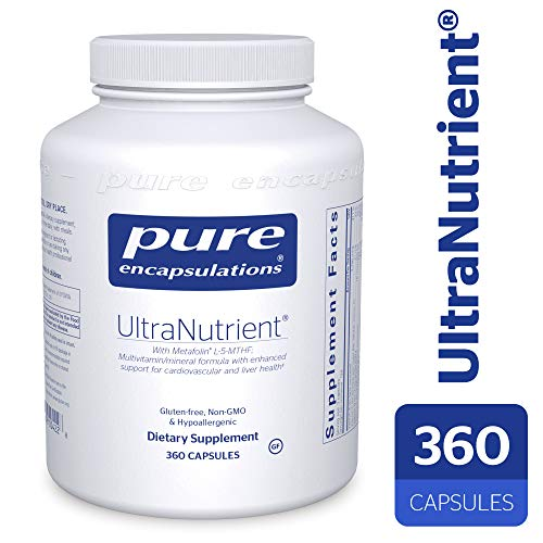 Pure Encapsulations - UltraNutrient - Hypoallergenic Multivitamin/Mineral Complex with Advanced Antioxidants - 360 Capsules (Best Multivitamin For Men Over 70)